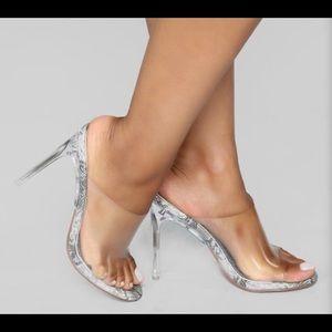 Snake Print Sandals - Size 11 Never worn